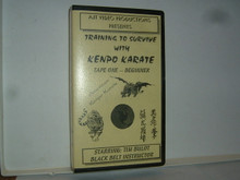 KENPO KARATE TRAINING TO SURVIVE Tape 1 W/ BULOT   (VHS VIDEO)