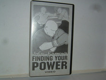 FINDING YOUR POWER Boxing W/ BROWN  (VHS VIDEO)
