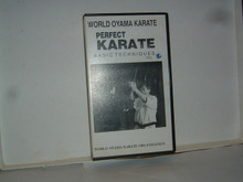 PERFECT KARATE BASIC TECHNIQUES # 2 W/ OYAMA   (VHS VIDEO)