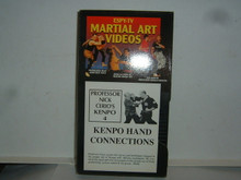 KENPO #4 HAND CONNECTIONS W/ CERIO   (VHS VIDEO)