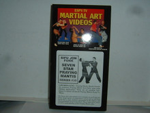 KUNG FU PRAYING MANTIS #10 SEVEN STAR W/ FUNK   (VHS VIDEO)