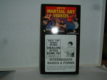 DRAGON KUNG FU #2 INTERMEDIATE BASICS W/ HONG  (VHS VIDEO)
