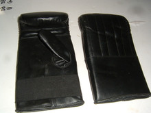 Bag Gloves Black Synthetic Leather (No Packaging)