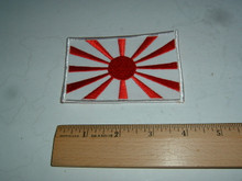 JAPAN FLAG RISING SUN Embroidered Patch