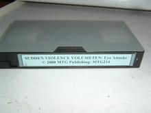 SUDDEN VIOLENCE VOL 10 - EYE ATTACKS MTG214   (VHS VIDEO)