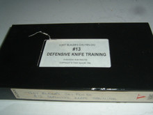 CHU FEN DO DEFENSIVE KNIFE TRAINING #13   (VHS VIDEO)