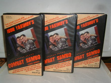 COMBAT SAMBO VOL 1 2 3 W/ YAKIMOV   (VHS VIDEO)