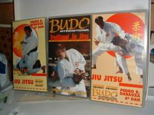 TRADITIONAL JIU JITSU VOLS 1-3 W/ PEDRO DABAUZA   VHS