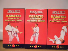 KARATE: ADVANCE FIGHTING SERIES VOL 2, 4, 5 W/ KUBOTA (VHS VIDEO)