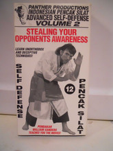 PENCAK SILAT ADV SELF DEFENSE VOL 2 W/ SANDERS  (VHS VIDEO)