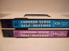 COMMON SENSE SELF-DEFENSE VOL 1 & 3 W/ TAMURA (VHS VIDEO)
