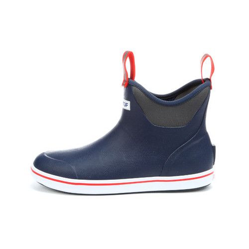 "Xtratuf Men's 6"" Ankle Boot Navy-Red"