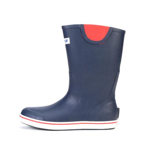 Xtratuf Men's 12 inch Deck Boot Navy-Red