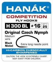 Hanak H 300 BL Original Czech Nymph Hooks