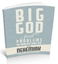 Big God, small problems. small god, BIG PROBLEMS. Book Cover.