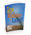 Getting Intentional About Community and Accountability - Grow Minister Lead V1.3  - Downloadable Training Article