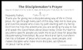 Disciplemakers Prayer Cards for a Disciplemaking Life  [10 Cards plus bonus wallet cards]