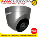 Hikvision DS-2CE56D0T-IT3/Grey 2MP 3.6mm lens 40m IR EXIR Turret Camera