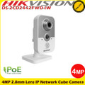 Hikvision DS-2CD2442FWD-IW 4MP 2.8mm fixed lens IP Network Cube Camera with IR, wifi & built in microphone/speakers