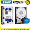 WD 4TB 7200 Blue SATA 6Gbps 64MB Cache Hard drive (WD40EZRZ)