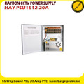 Haydon 16 Way Boxed PSU 20 Amp PTC Fuses Surge Protected - (HAY-PSU1612-20A)