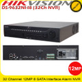 Hikvision DS-9632NI-I8 NVR 32 Channel 320Mbps inbound bandwidth supports Upto 12mp recording