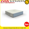Hikvision DS-7108HQHI-K1 8 Channel 3MP  White Turbo 4 DVR HD-TVI/AHD/Analogue H.265