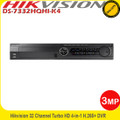 Hikvision DS-7332HQHI-K4 32 Channel 3MP Turbo HD DVR HD-TVI/AHD/Analogue H.265+