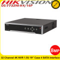 Hikvision DS-7732NI-K4/16P 32 Channel Embedded Plug & Play 4K NVR