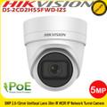 Hikvision DS-2CD2H55FWD-IZS 5MP 2.8mm-12mm varifocal lens 30m IR IP Turret Camera