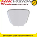 Pyronix FPDELTA-CW SOUNDER COVER Deltabell White 1