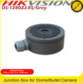 Hikvision DS-1280ZJ-XS Grey Power intake box for use with various IP & TVI Cameras