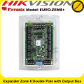 Pyronix EURO-ZEM8+ 8 DEOL/Double Pole Input Expander W/ 4 Transistor Outputs