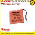 Pyronix BATT-ES1 Battery 3V Lithium for Wireless DeltaBell-WE'