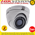 Hikvision DS-2CE56H5T-ITME 5MP 2.8mm fixed lens 20m IR Ultra-Low Light IP67 EXIR PoC Eyeball Camera