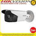 Hikvision 2MP 12mm fixed lens  80m IR EXIR Outdoor Bullet Camera - DS-2CE16D0T-IT5F