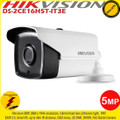 Hikvision 5MP 3.6mm fixed lens 40m IR Ultra-Low light EXIR IP67 PoC Bullet Camera - DS-2CE16H5T-IT3E