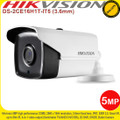 Hikvision 5MP 3.6mm fixed lens 80m IR IP67 weatherproof 4-in-1 EXIR Bullet Camera - DS-2CE16H1T-IT5