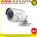 Hikvision 2MP 3.6mm fixed lens 20m IR IP66 Night-vision Outdoor 4-in-1 Bullet Camera - DS-2CE16D0T-IRPF