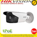 Hikvision 2MP 6mm fixed lens 30m IR IP67 PoE H.264+ IP Network Bullet Camera - DS-2CD2T22WD-I3