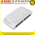 Hikvision  8 channel  Intercom PoE Switch Video/Audito Distributor - DS-KAD606-N
