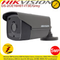 Hikvision 5MP 3.6mm fixed lens 40m IR IP67 EXIR PoC Bullet Camera - DS-2CE16H0T-IT3E/GREY