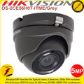 Hikvision 5MP 2.8mm fixed lens 20m IR distance IP67 Poc Eyeball Camera - DS-2CE56H0T-ITME/GREY