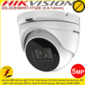 Hikvision 5MP Ultra-Low light 2.8-12mm motorized vari-focal lens 40m IR IP67 PoC turret Camera - DS-2CE56H5T-IT3ZE