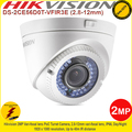 Hikvision 2MP 2.8-12mm vari-focal lens 40m IR distance IP66 PoC Turret Camera - DS-2CE56D0T-VFIR3E