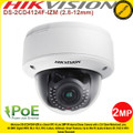 Hikvision 2MP CMOS Vandal-proof Indoor IP Network Dome Camera with 2.8 to 12mm motorized varifocal lens , 30m IR distance, Smart Defog, PoE, - DS-2CD4124F-IZM