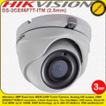 Hikvisioni 3MP 2.8mm fixed lens 20m IR Distance WDR EXIR Turret Camera - DS-2CE56F7T-ITM