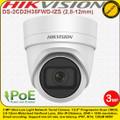 Hikvision 3MP 2.8-12mm Motorized Varifocal Lens 30m IR Distance WDR EXIR IP67 IP Network Turret Camera - DS-2CD2H35FWD-IZS