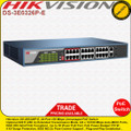 Hikvision 24-ports 100Mbps unmanaged PoE+ switch - (DS-3E0326P-E)