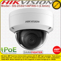 Hikvision DS-2CD2145FWD-I 4MP 2.8mm fixed lens 30m IR Darkfighter Ultra low light Indoor Vandal proof Network IP Dome Camera